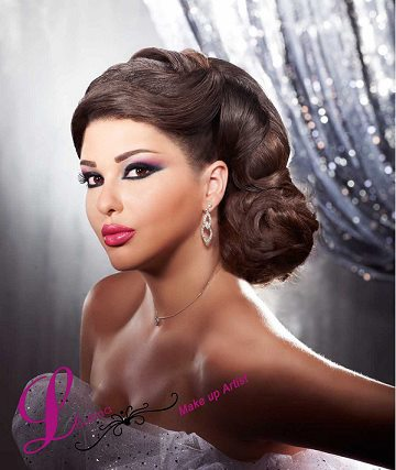 maquillage libanais mariage 2016