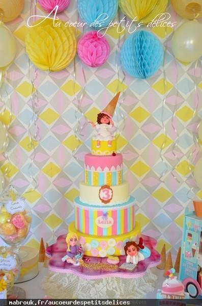 Wedding Cake Oriental Au Coeur Des Petits Delices
