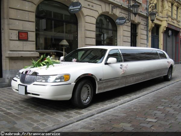 transcar service louer une limousine avec chauffeur pour son mariage. Black Bedroom Furniture Sets. Home Design Ideas